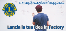 Startup Factory Distretto 108A Lions Club